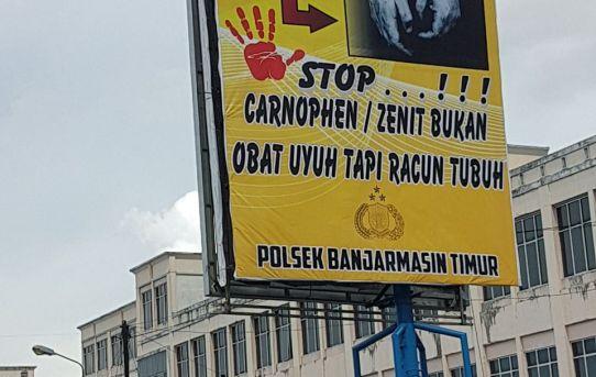 Polsek Banjarmasin Timur Gencar Sosialisasikan Bahaya Zenith