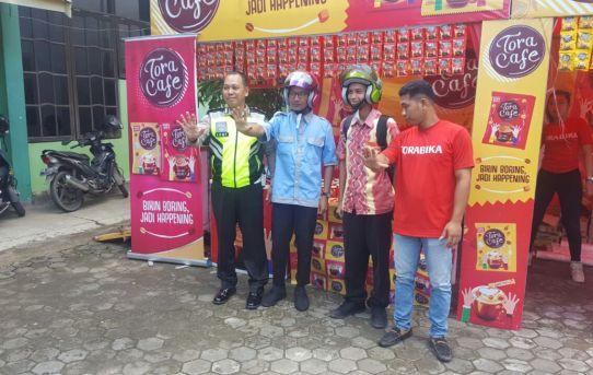 Kampanyekan Undang - Undang Lalu Lintas , Sat Lantas Polresta Banjarmasin Kunjungi SMKN 5