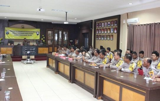 Tingkatkan Peran Bhabinkamtibmas Dilapangan, Direktorat Binmas Polda Kalsel Gelar Pelatihan Kemampuan Pengemban Fungsi Polmas