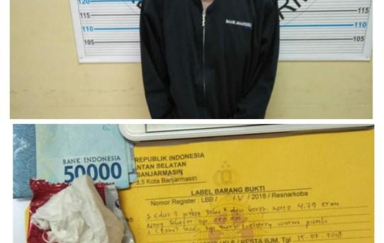 Polresta Banjarmasin : Bukan Main Satuan Resnarkoba Berhasil Ringkus Pengedar Narkoba Wilayah Kota Banjarmasin