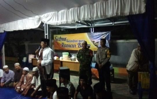 """Meriahnya Acara """"Sahur Baimbai wan Paman Birin"""" Gubernur Kalsel di Kelurahan Pemurus Baru Banjarmasin"""