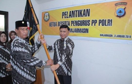 Kapolresta Banjarmasin Hadiri Pelantikan Dan Pengukuhan PP Polri Cabang Banjarmasin
