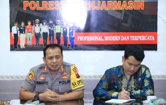 Kegiatan Kunjungan Kerja Kompolnas di Polresta Banjarmasin