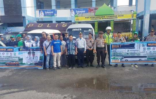 Walikota Banjarmasin Kunjungi Pos Pam Terminal KM 6 Banjarmasin.