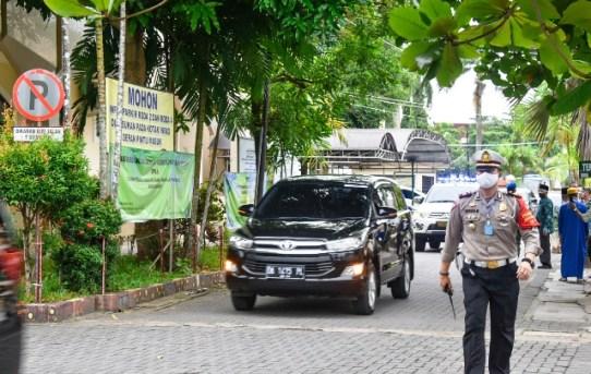 Polresta Banjarmasin Gelar Pengamanan Kunjungan Ketua Umum PMI Pusat