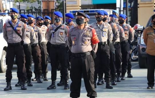 Jelang Hari Raya Idul Adha 1441 H, Polresta Banjarmasin Gelar Apel Pengamanan