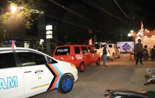 Patroli Cipkon, Polresta Banjarmasin Sosialisasikan Perwali