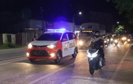 Penguatan Harkamtibmas, Polresta Banjarmasin Gelar Patroli Cipta Kondisi