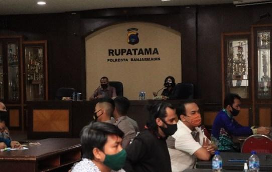 Polresta Banjarmasin Gandeng Biro SDM Polda Kalsel Gelar Tes Psikologi Senpi