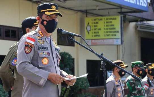 Gunakan Bahasa Banjar, Kapolresta Banjarmasin Himbau Warga Untuk Tidak Mudik Lebaran