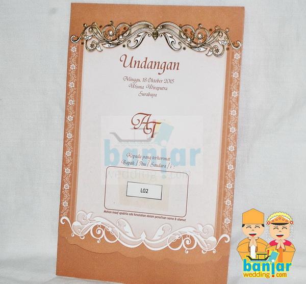 Undangan Pernikahan Murah Ub L02 Banjar Wedding Banjar Wedding