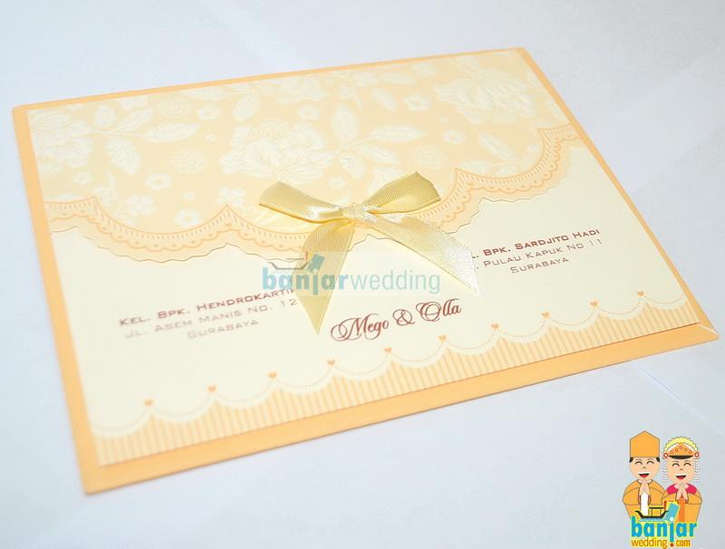 Undangan Semi Hard Cover Pita Ehmoc10 Banjar Wedding Banjar Wedding
