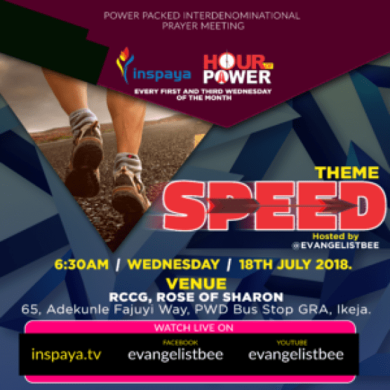 SPEED (PART 1) - PRAYER POINTS - Banji Adesanmi Ministry