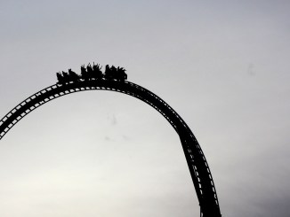 stock market - scarier than a roller coaster?