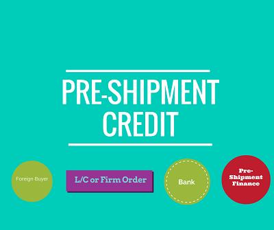 pre-shipment finance