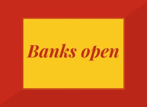 Banks open on 25 march 26 March