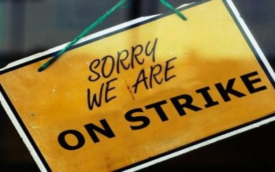 Bank Strike for 2 Days in May (30-31 or 28-29?)