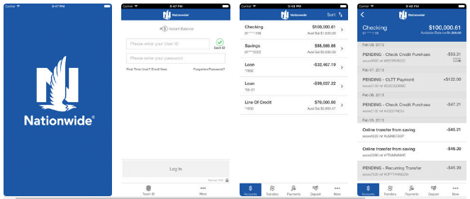 Nationwide Banking App