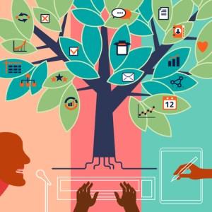 © Meganeura | Dreamstime.com - Voice, Text, Manual Data Input. Concept Illustration Photo