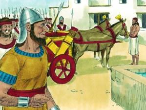 Adonijah proclaims himself king