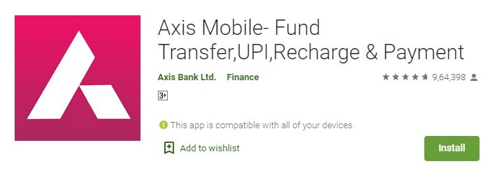Axis Bank Balance Enquiry