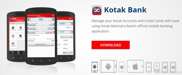 Kotak Mahindra Mobile banking
