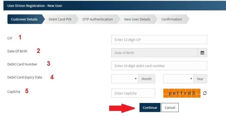 Bandhan bank net banking registration