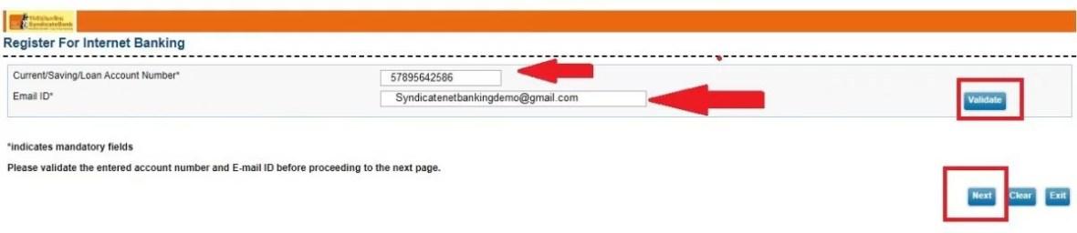 syndicate bank net banking