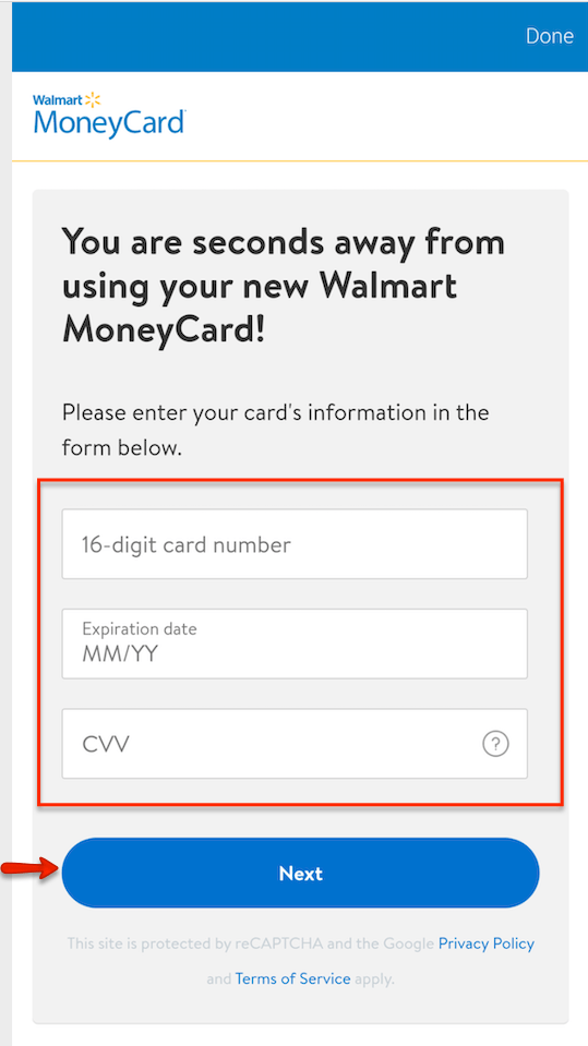 """Activate Walmart MoneyCard with Mobile App"""""""