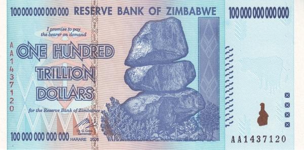 zimbabwe100