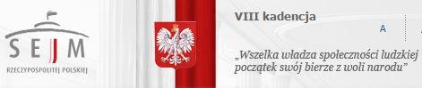 Sejm logo