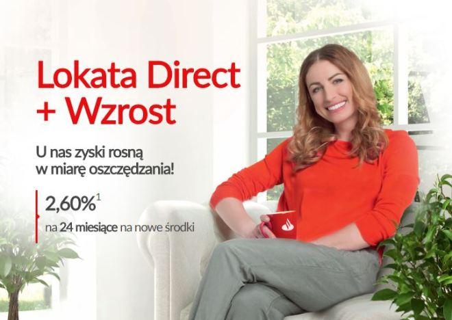 Santander Direc +Wzrost