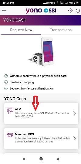 How to withdraw money from SBI ATM without debit card?