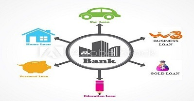 Different types of loans offered by Commercial Banks in India