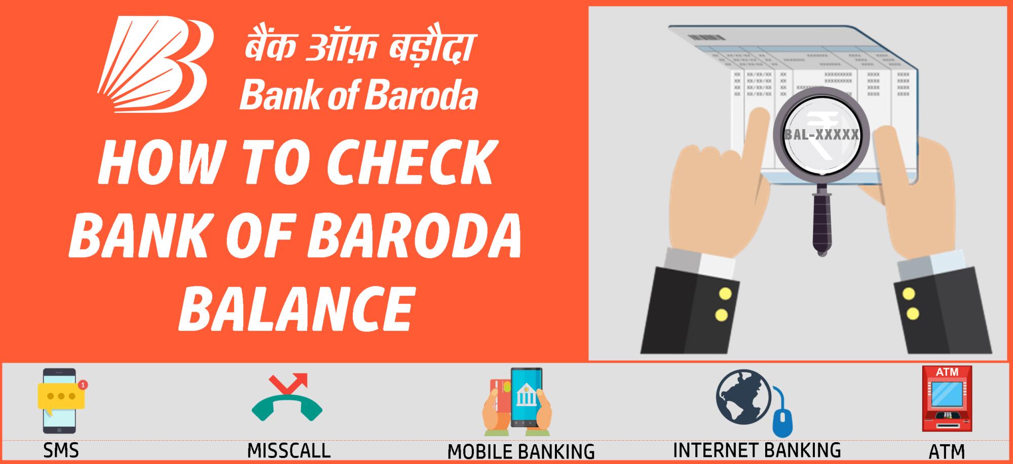 check bank of baroda balance