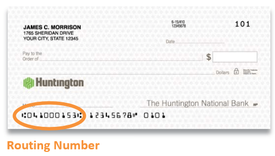 Bank Routing Number Bank Of America