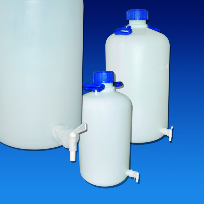 ASPIRATOR BOTTLES HDPE  with Tap Cat. 375   | 25 lt