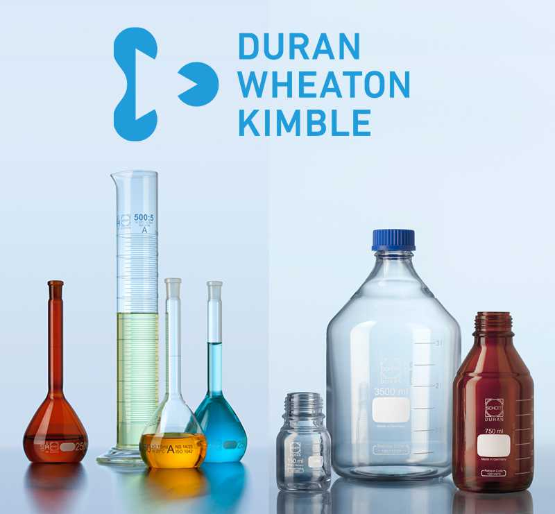 DURAN® Erlenmeyer flask, narrow neck, with graduation, 50 ml, without print