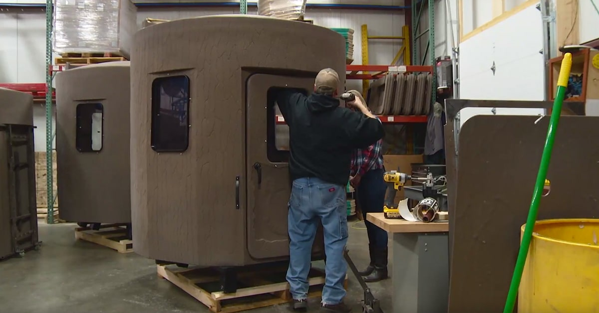 How We Make Our Hunting Blinds - Banks Outdoors