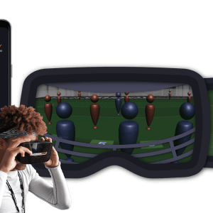 Playbook Five Virtual Reality Headset + Subscription Account for Football Players
