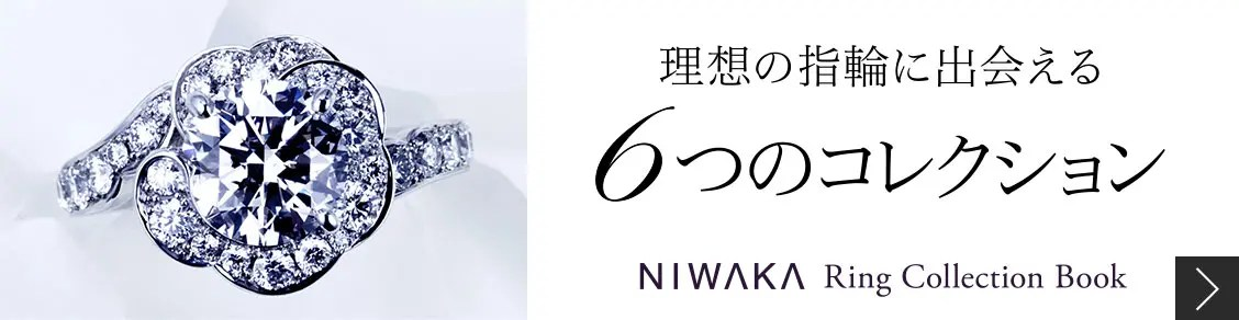 NIWAKA Ring Collection Book_1128 x 292のバナーデザイン