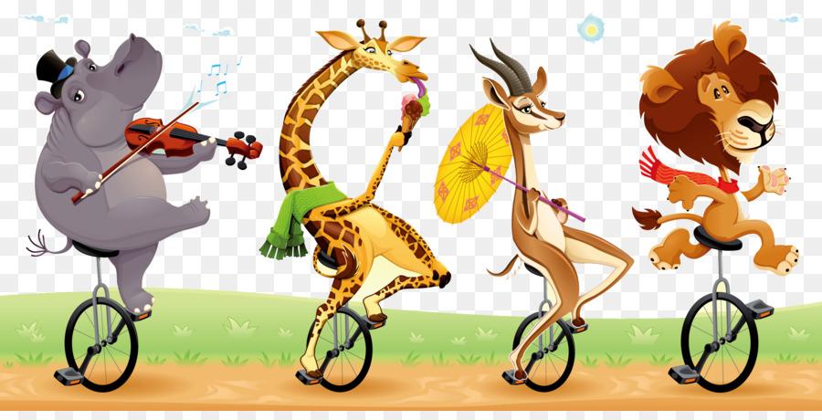Circus Cartoon Humor Illustration Zirkus Tiere Png