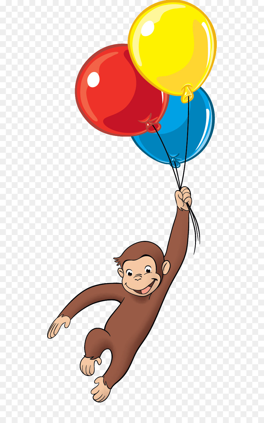 Birthday Party Background Png Download 578 1437 Free Transparent Curious George Png Download Cleanpng Kisspng