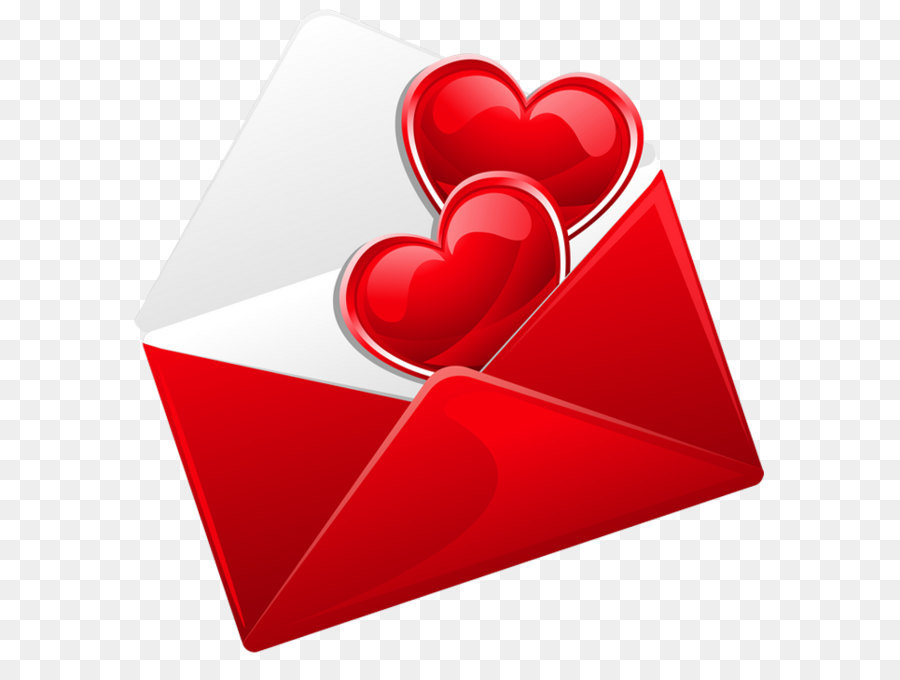 Love Letter Clip Art Transparent Red Love Letter With