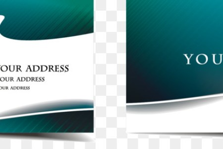 Paper Business Cards Visiting card   Vector business card templates     Paper Business Cards Visiting card   Vector business card templates
