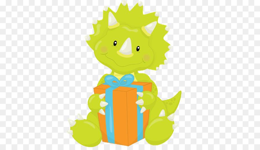 Stegosaurus Dinosaur Birthday Cupcake Baby Shower