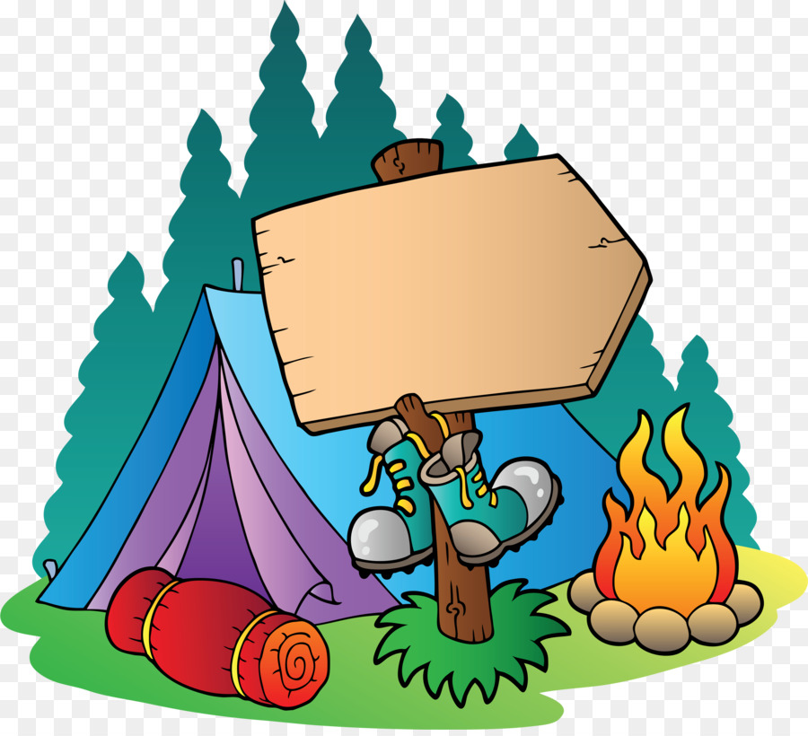 Setting Tent Clip Art Girl