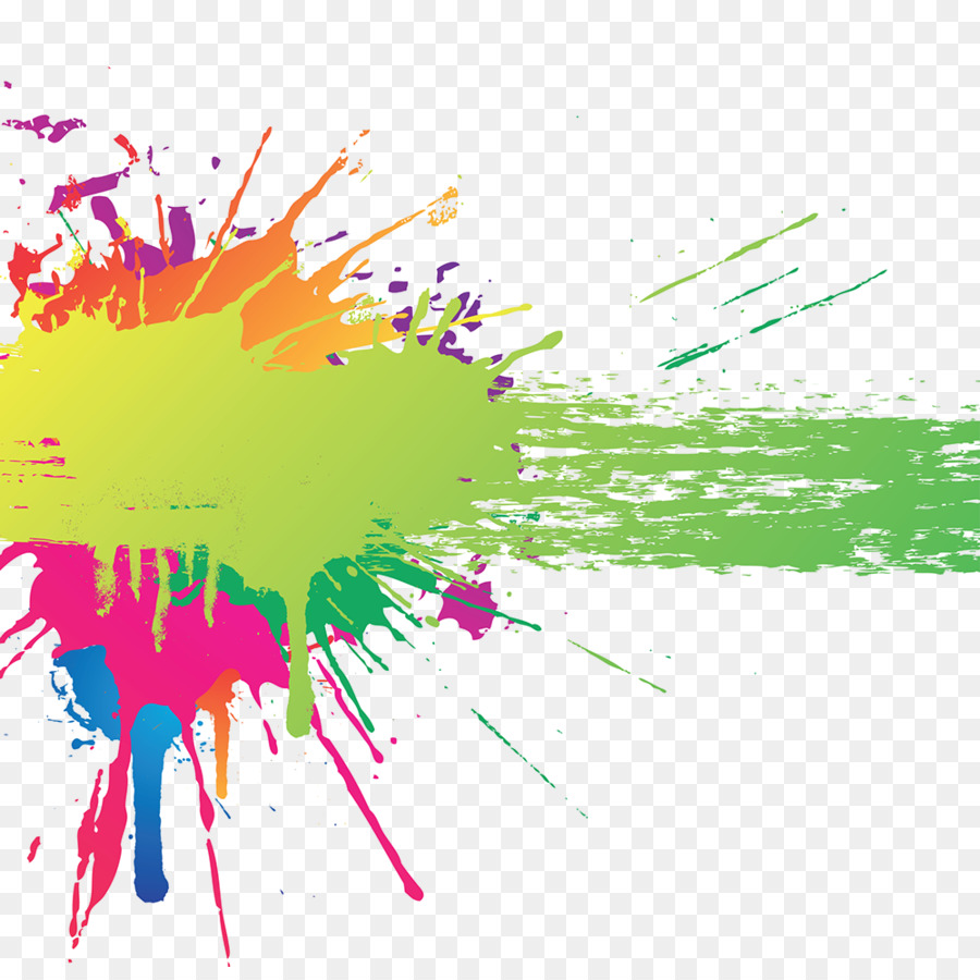 Color Splash Art Clip Art Colour Splash Png Download 999986 Free Transparent Color Png