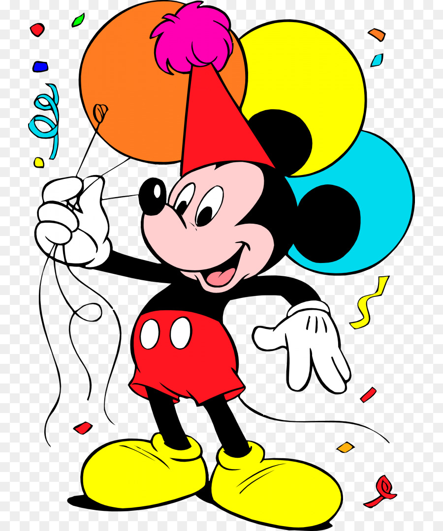 Micky Mouse Christmas Coloring Page