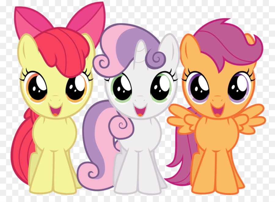 Apple Bloom Pony Twilight Sparkle Cutie Mark Crusaders